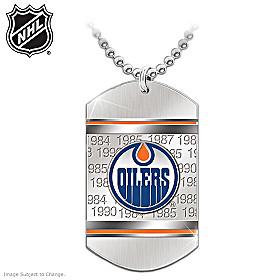 Edmonton Oilers® Pendant Necklace