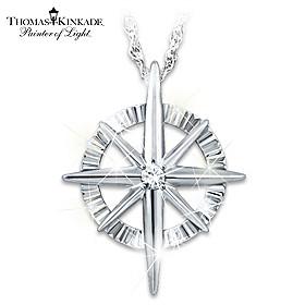 Faith For All Seasons Diamond Pendant Necklace