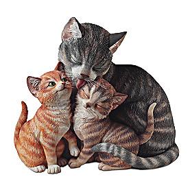 Fur-Ever Family Sculpture