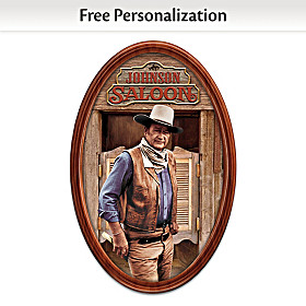 The Duke Personalized Collector Plate