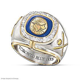 Toronto Blue Jays Diamond Ring