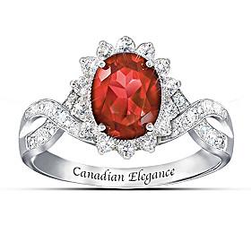 Canadian Elegance Ring