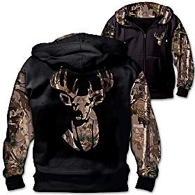 10-Point Buck Men's Hoodie