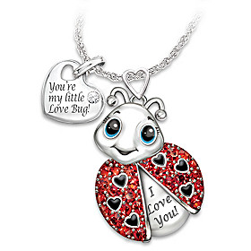 Granddaughter, You're Cute As A Bug Pendant Necklace