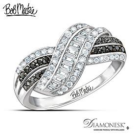 Bob Mackie Night And Day Diamonesk Ring