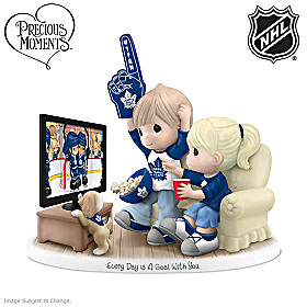 Every Day Is A Goal With You Maple Leafs® Figurine