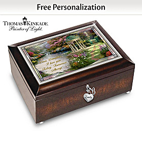 Daughter, I Will Love You Always Personalized Music Box