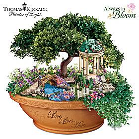 Thomas Kinkade Love Lives Here Table Centrepiece