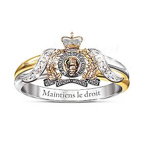 RCMP Diamond Ring