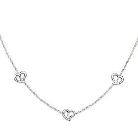 Today, Tomorrow, Always Diamond Necklace