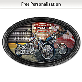 Freedom Rider Personalized Collector Plate