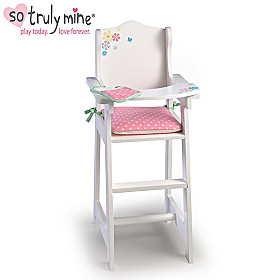 High Chair Baby Doll Accessory Set