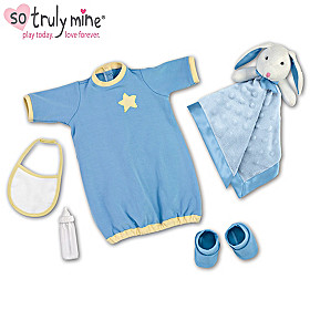 Starry Night Baby Doll Accessory Set
