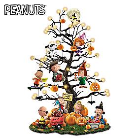 PEANUTS It's the Great Pumpkin Tabletop Tree