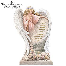 Thomas Kinkade In Loving Memory Sculpture