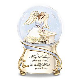 Forever In My Heart Glitter Globe