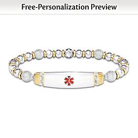 Medical Alert Personalized Bracelet