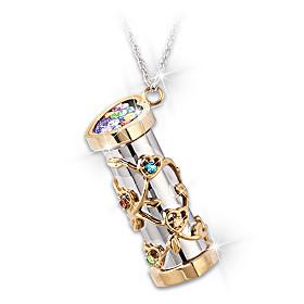 You Colour My World Pendant Necklace