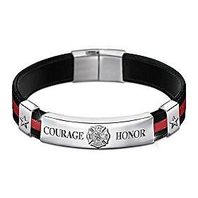 In The Line Of Duty Men's Bracelet