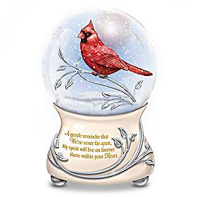 Messenger From Heaven Glitter Globe