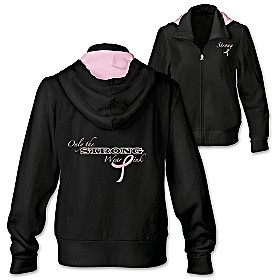 Only The Strong Wear Pink Women's Hoodie