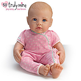 So Truly Mine Baby Doll: Blonde Hair, Blue Eyes, Light Skin