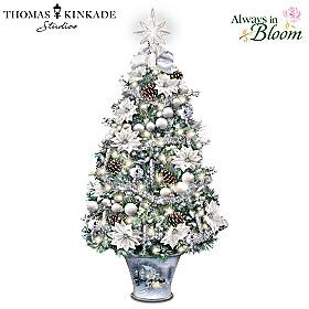 Thomas Kinkade Winter Splendour Tabletop Tree