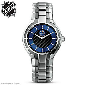 Edmonton Oilers® Carbon Fiber Men's Watch