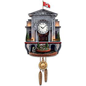 Spirit Of Canada Wall Clock