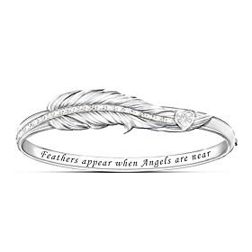 When Angels Are Near Diamond Bracelet