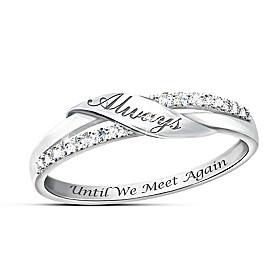 Until We Meet Again Diamond Ring