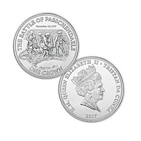 Battle Of Passchendaele Centennial Crown Coin