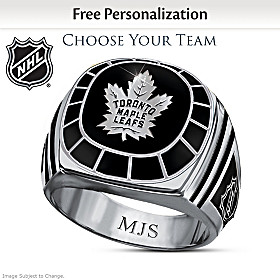 Personalized NHL® Team Ring