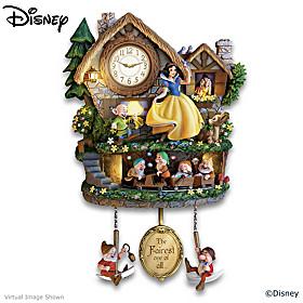 Disney Snow White Hidden Treasure Cuckoo Clock