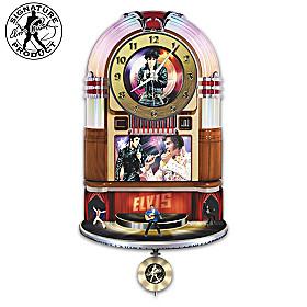 Elvis Presley Rock 'N' Roll Wall Clock