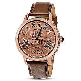 Replica 1936 Canadian Dot Penny Men's Watch