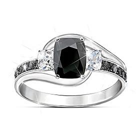 Black Velvet Ring