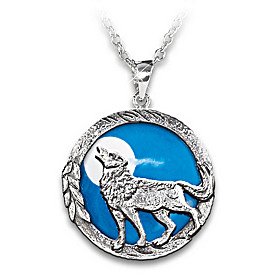 Call Of The Wild Pendant Necklace