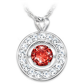 Sparkling You Personalized Pendant Necklace