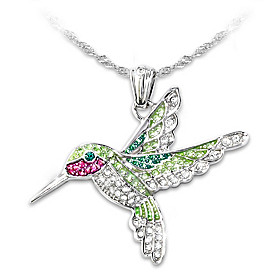 Radiant Wings Pendant Necklace