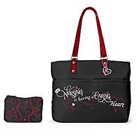Caring Heart Tote Bag