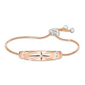 Trust In The Lord Women's Copper Bracelet