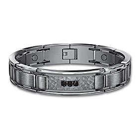 Strength, Courage, Wisdom Men's Bracelet
