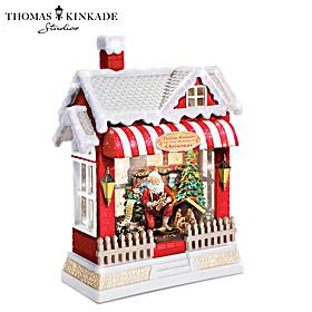 Thomas Kinkade The True Meaning Of Christmas Water Globe