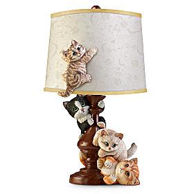 Cat-Tastrophe Lamp