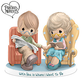 Precious Moments With You Is Where I Want To Be Figurine