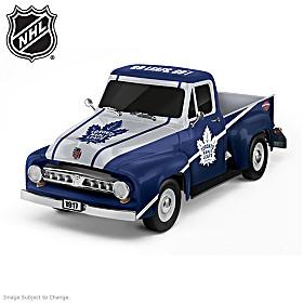 Toronto Maple Leafs® Replica Ford F-100 Truck Sculpture