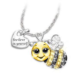 Always Bee Yourself Pendant Necklace