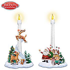 Santa's Guiding Light Candle Set