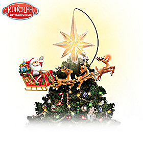 Rudolph The Red-Nosed Reindeer Tree Topper